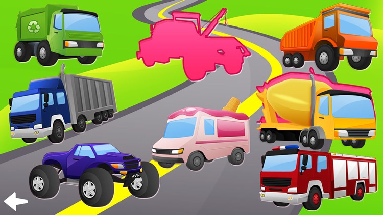Trucks and Diggers Puzzles Games For Boys Lite screenshot-4