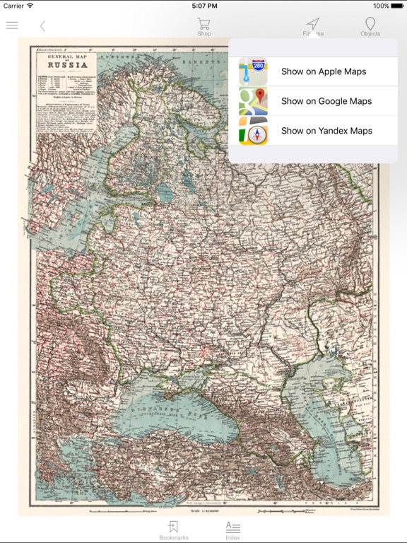 Russia Western Part 1914 Historical Map App Price Drops