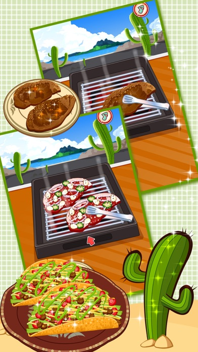 Real Mexican Taco - cooking game for kidsScreenshot of 2