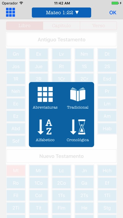 Screenshot for Bilingual Bible English Spanish - KJV Reina Valera in Belgium App Store