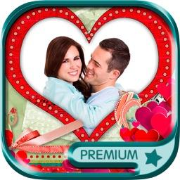 Photomontage love frames Photo editor - Premium
