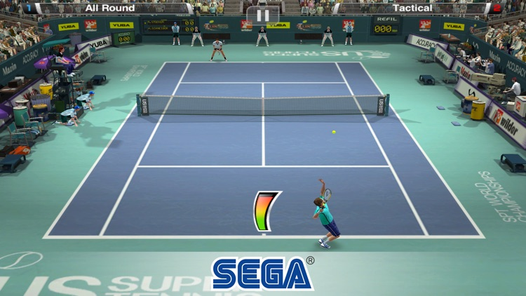 Virtua Tennis Challenge screenshot-1