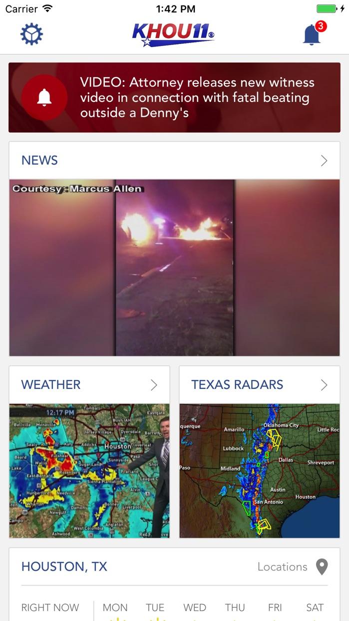 KHOU 11 News Houston Screenshot