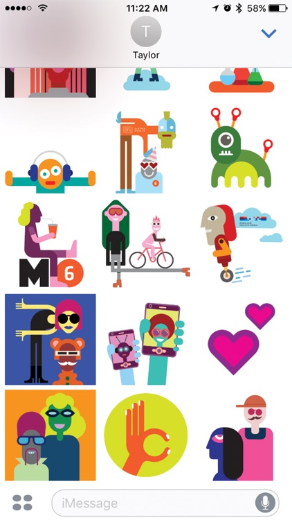 M.6 Sticker Pack screenshot-4