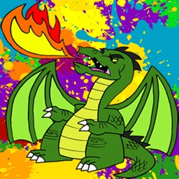 Dragon Coloring Book For Kids Tolders