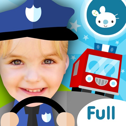 Fireman! Fire Fighter Truck Driving Games for Kids