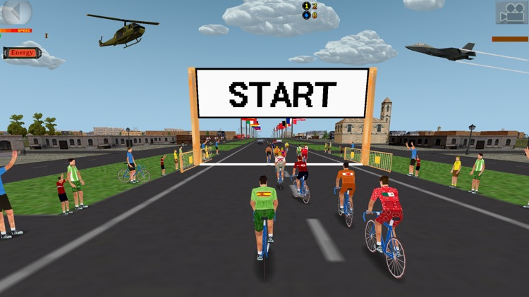 Ciclis 3D Lite - The Cycling Simulator screenshot-0