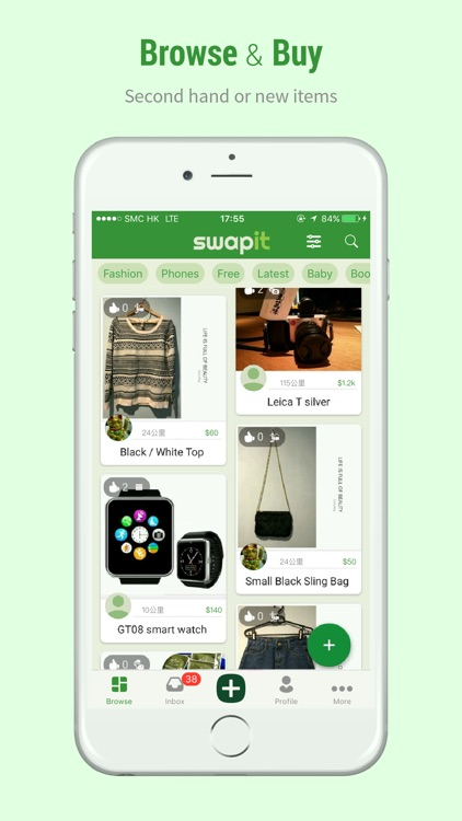 Swapit - Buy & Sell Used Stuff