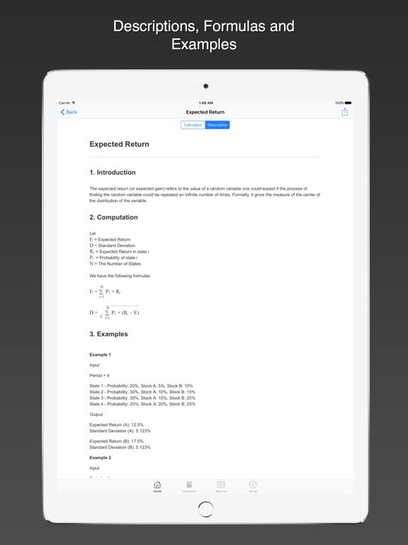 Screenshot #5 pour Ray Financial Calculator