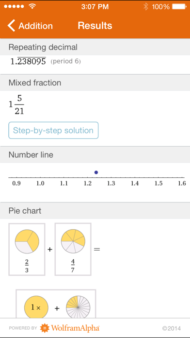 Wolfram Fractions Reference App screenshot three