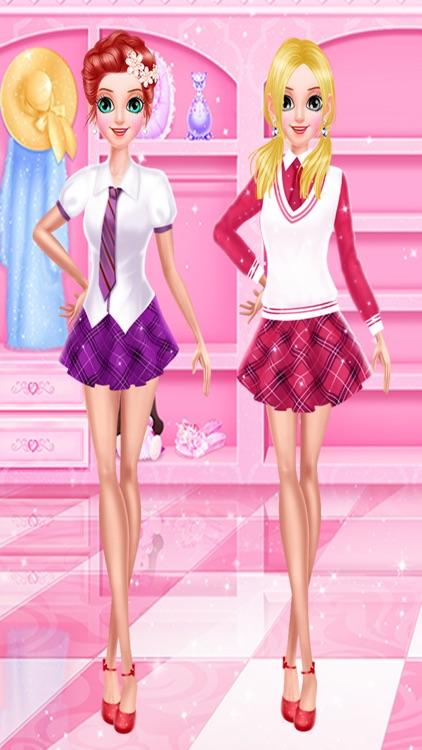 High School Salon - Summer School Crush screenshot-3