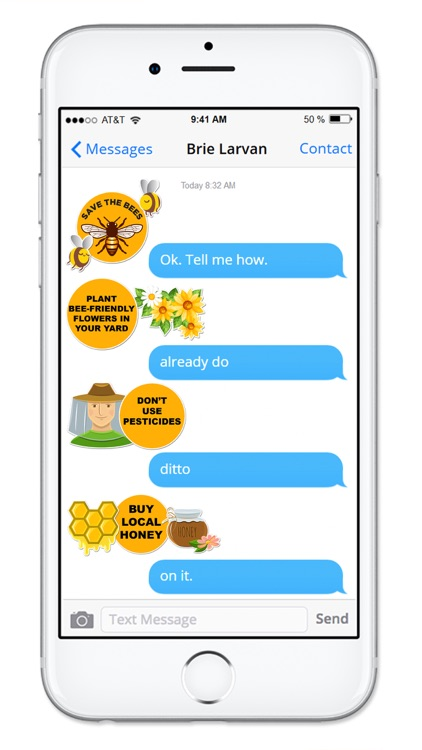 Save The Bees Sticker Pack screenshot-1