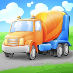 Trucks and Things That Go Vehicles Puzzle Game