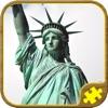 纽约州 拼图 - 益智游戏