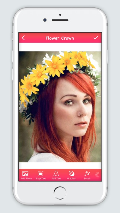 Flower Crown Booth - Crown Photo Editor