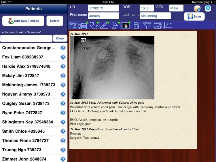 medicalNotesHD screenshot-1