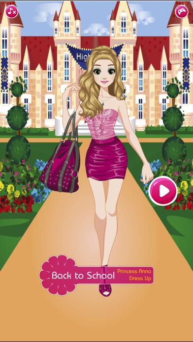 messages.download Retour à l'école - Princesse Anna habiller jeux software