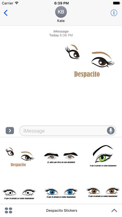 Despacito Stickers screenshot one