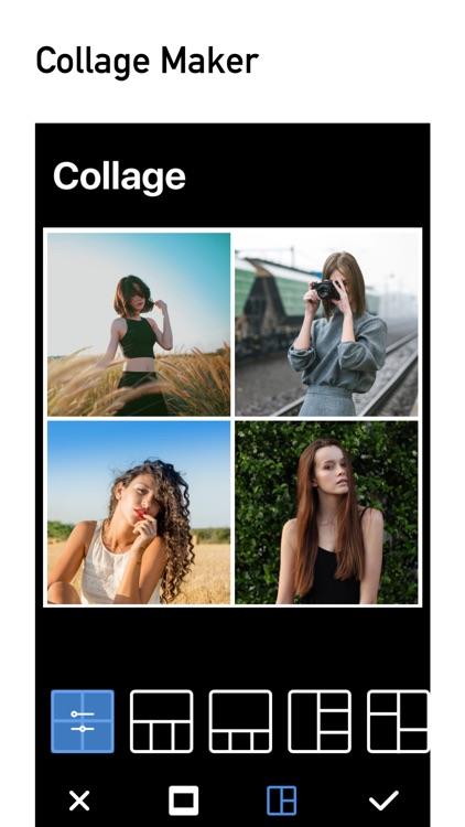 Grids - no crop photo editor & collage maker