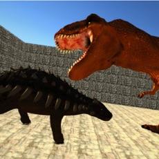 Activities of Dino Anky vs T-Rex Colloseum
