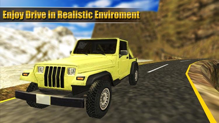 Super Offroad Jeep Driving Simulator screenshot-3