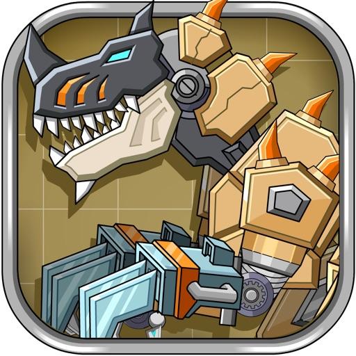 Desert T-Rex Robot Dino Army iOS App