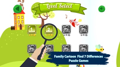 Screenshot 4 For Family Cartoon Find 7 Difference Game