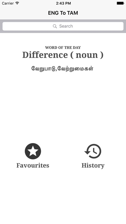 Simple English To Tamil Dictionary by pallavi dhar