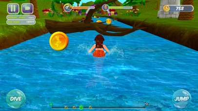 Fancy Mermaid Race Adventures screenshot three