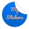 Draw your own custom stickers with MyStickers sticker app