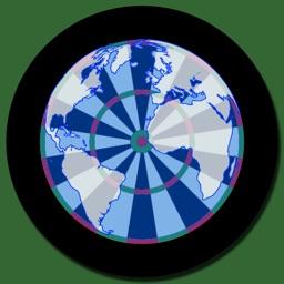 World Map Darts
