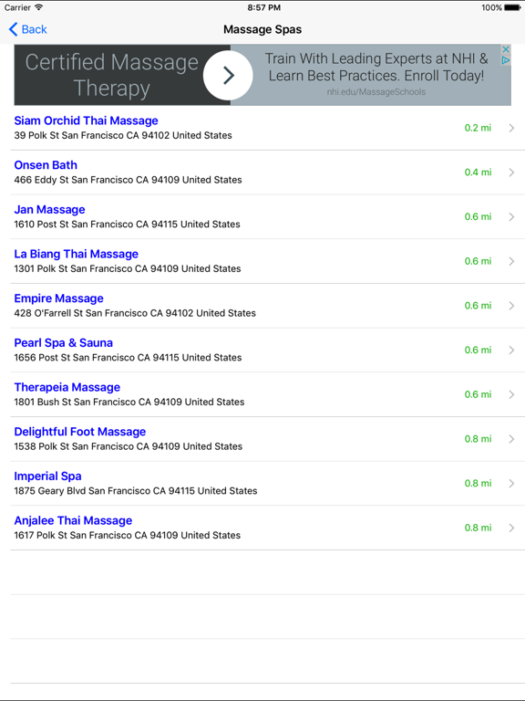 Massage Finder: Find In Home & Mobile Therapist by Michael
