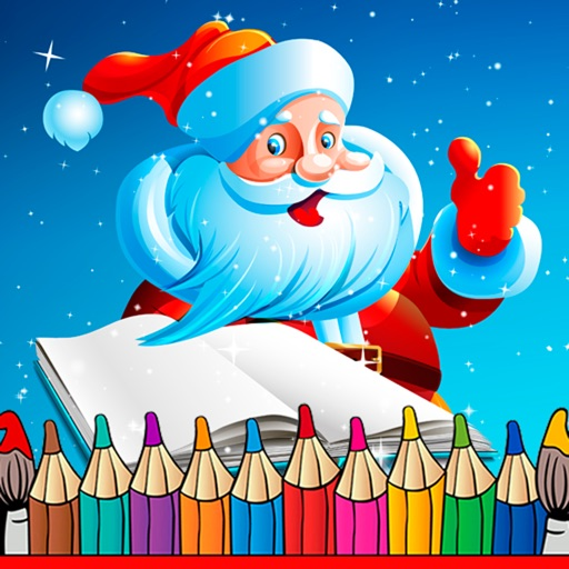 Christmas coloring pages – Coloring book by Reticode