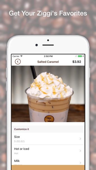 Ziggi's Coffee screenshot one