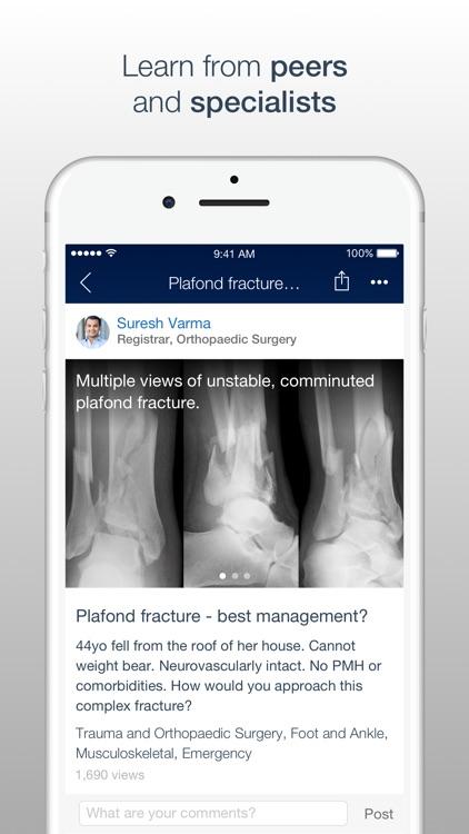 MedShr - Discuss Clinical Cases & Medical Images