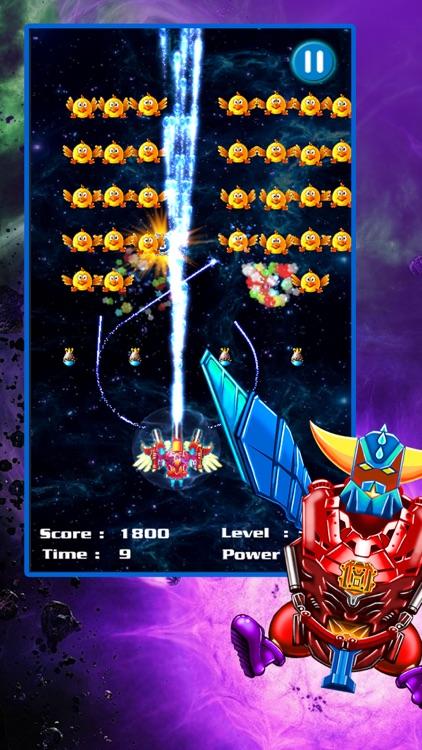 Space Attack: Chicken Shooter screenshot-0