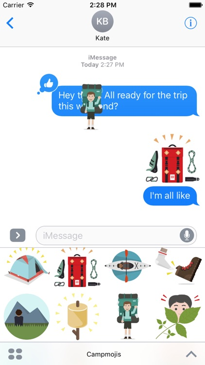 Campmojis screenshot-4