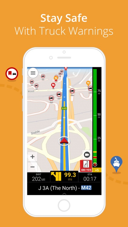 CoPilot Truck Europe - GPS Navigation for Truck screenshot-3