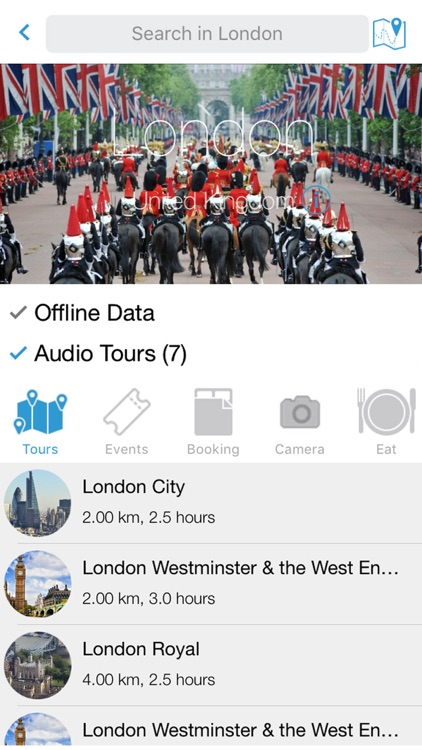 TourPal Travel Guide with Tour Maps & Trip Planner