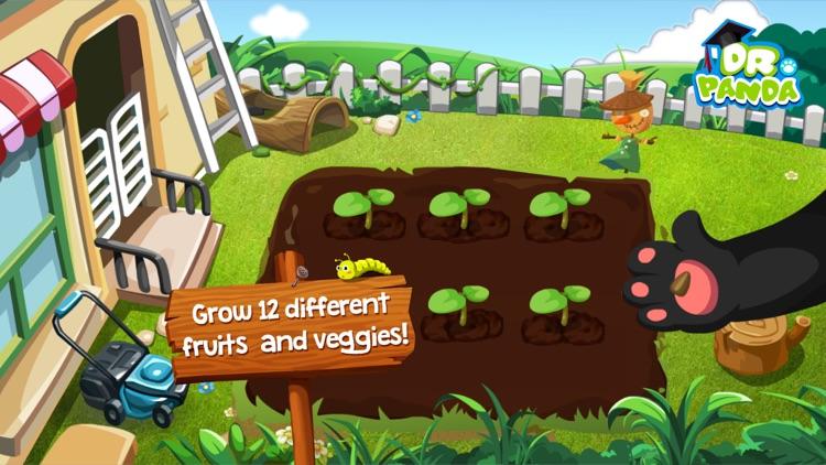 Dr. Panda Veggie Garden screenshot-0