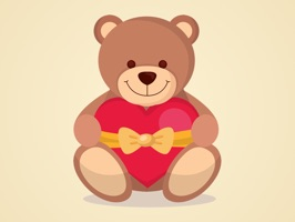teddy bears stickers for imessage by francesco paradiso