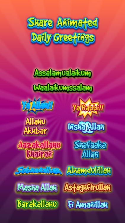 Aliya Hijab & Muslim Stickers screenshot-4