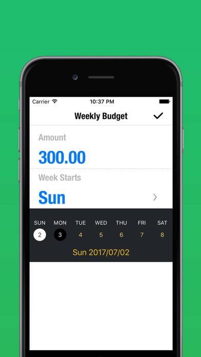 Weekly Budget - Meine Ausgaben, Mein HaushaltsbuchScreenshot von 4