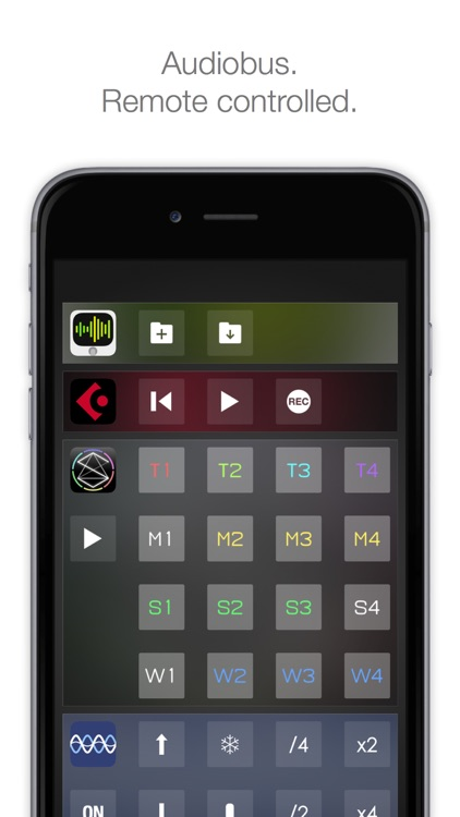 Audiobus Remote screenshot-0