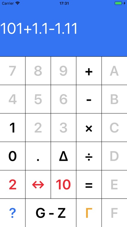 Binarycalc - Binary Calculator screenshot-0