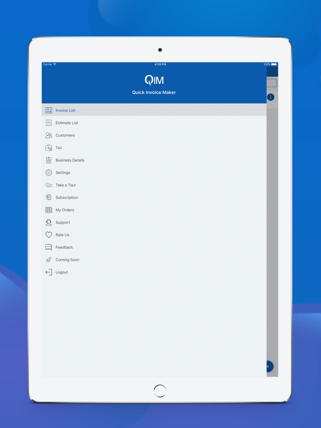 Quick Invoice Maker On The App Store - Quick invoice maker