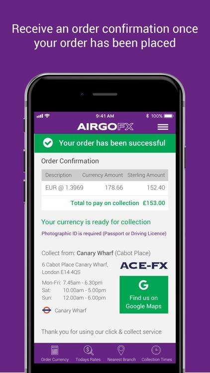 AIRGOFX - Travel Money Online screenshot-7