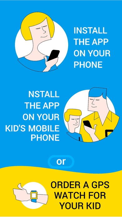 Find My Kids:child gps tracker app image