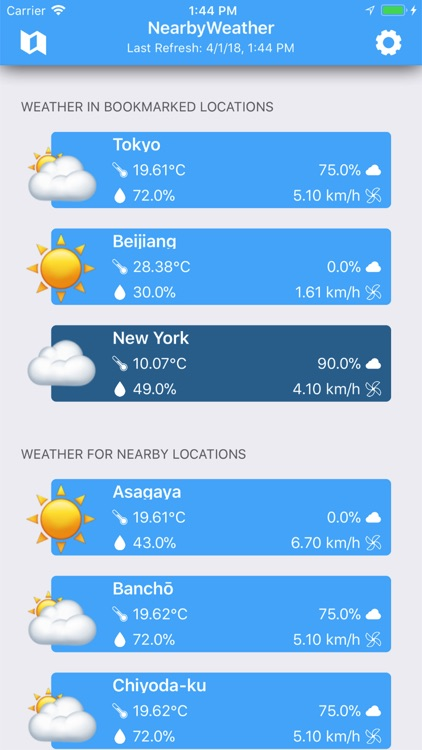 Weather Nearby