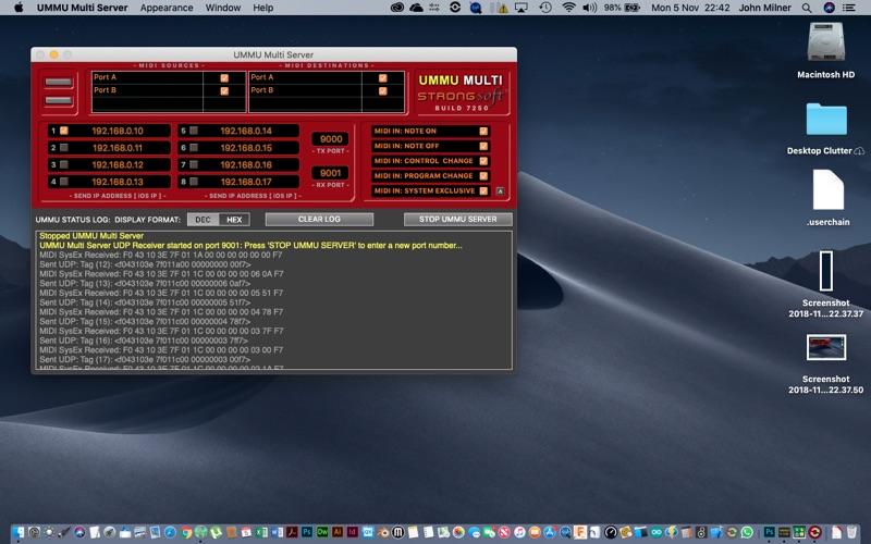 UMMU Multi Server screenshot 2